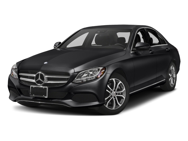 Black 2017 Mercedes-Benz C-Class Pictures C-Class Sedan 4D C300 I4 Turbo photos front view