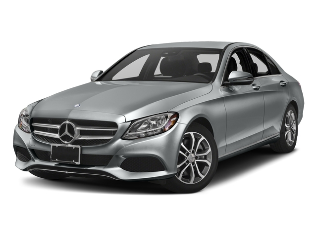 Iridium Silver Metallic 2017 Mercedes-Benz C-Class Pictures C-Class Sedan 4D C300 I4 Turbo photos front view