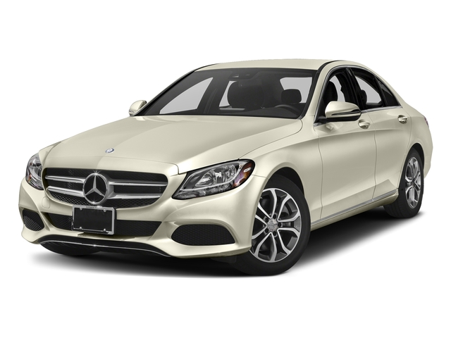 designo Diamond White Metallic 2017 Mercedes-Benz C-Class Pictures C-Class Sedan 4D C300 I4 Turbo photos front view