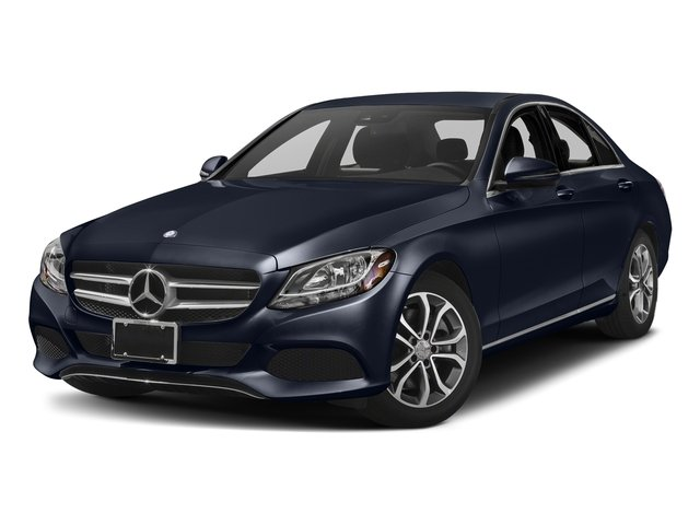 Lunar Blue Metallic 2017 Mercedes-Benz C-Class Pictures C-Class Sedan 4D C300 I4 Turbo photos front view