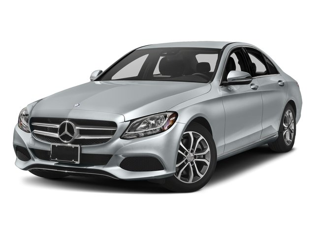 Diamond Silver Metallic 2017 Mercedes-Benz C-Class Pictures C-Class Sedan 4D C300 I4 Turbo photos front view