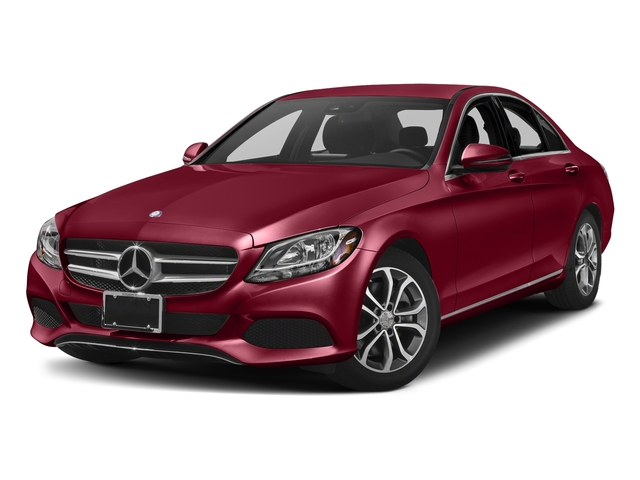 designo Cardinal Red Metallic 2017 Mercedes-Benz C-Class Pictures C-Class Sedan 4D C300 I4 Turbo photos front view