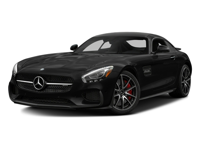 Magnetite Black Metallic 2017 Mercedes-Benz AMG GT Pictures AMG GT S 2 Door Coupe photos front view