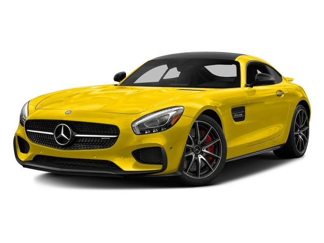 AMG Solarbeam Yellow 2017 Mercedes-Benz AMG GT Pictures AMG GT S 2 Door Coupe photos front view