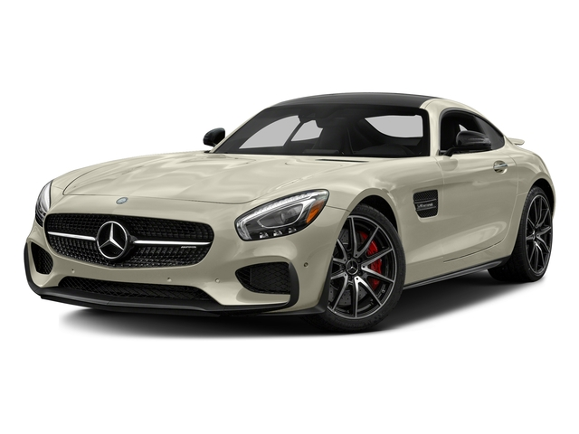Diamond White Metallic 2017 Mercedes-Benz AMG GT Pictures AMG GT S 2 Door Coupe photos front view