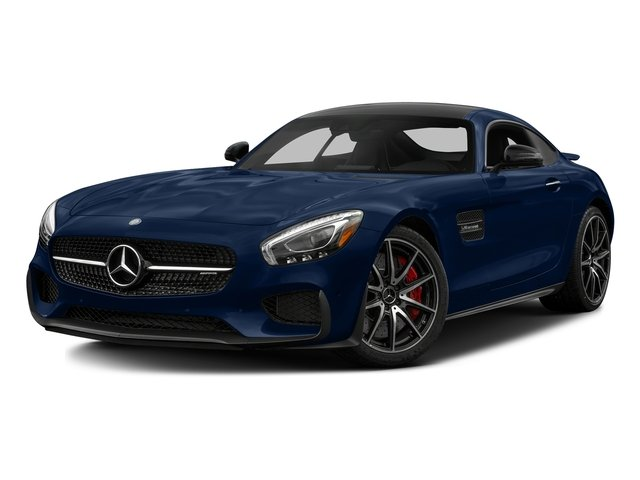 Brilliant Blue 2017 Mercedes-Benz AMG GT Pictures AMG GT S 2 Door Coupe photos front view