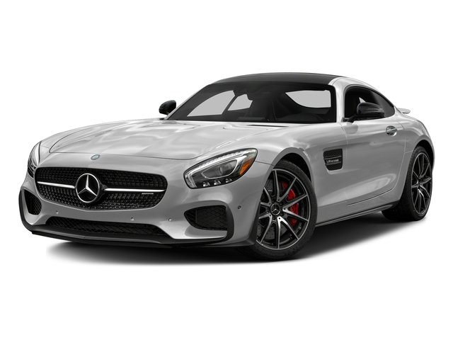 designo Magno Iridium Silver (Matte Finish) 2017 Mercedes-Benz AMG GT Pictures AMG GT S 2 Door Coupe photos front view