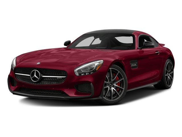 designo Cardinal Red Metallic 2017 Mercedes-Benz AMG GT Pictures AMG GT S 2 Door Coupe photos front view