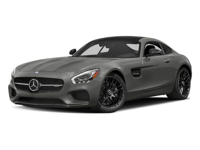 designo Magno Selenite Grey (Matte Finish) 2017 Mercedes-Benz AMG GT Pictures AMG GT 2 Door Coupe photos front view