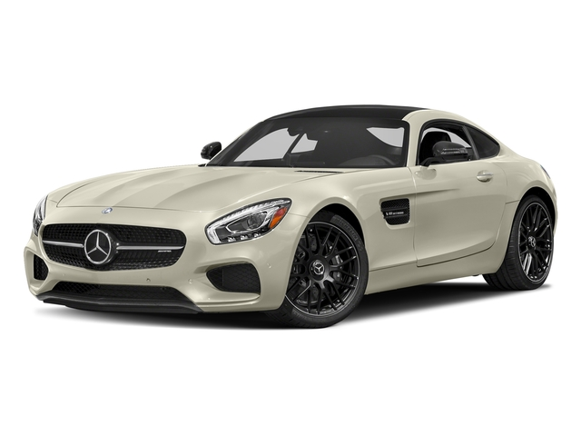 Diamond White Metallic 2017 Mercedes-Benz AMG GT Pictures AMG GT 2 Door Coupe photos front view