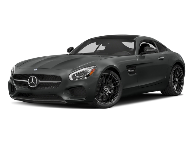 Selenite Grey 2017 Mercedes-Benz AMG GT Pictures AMG GT 2 Door Coupe photos front view