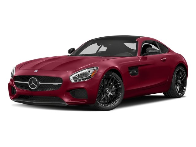 designo Cardinal Red Metallic 2017 Mercedes-Benz AMG GT Pictures AMG GT 2 Door Coupe photos front view