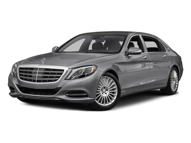 designo Magno Alanite Grey (Matte Finish) 2017 Mercedes-Benz S-Class Pictures S-Class Maybach S 600 Sedan photos front view
