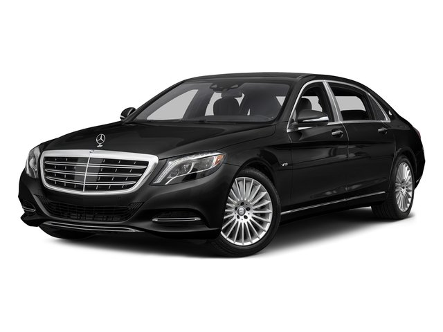 Obsidian Black Metallic 2017 Mercedes-Benz S-Class Pictures S-Class Maybach S 600 Sedan photos front view