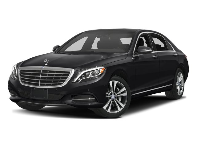 Black 2017 Mercedes-Benz S-Class Pictures S-Class S 550e Plug-In Hybrid Sedan photos front view
