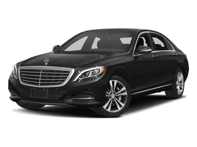 Obsidian Black Metallic 2017 Mercedes-Benz S-Class Pictures S-Class Sedan 4D S550e V6 Turbo photos front view
