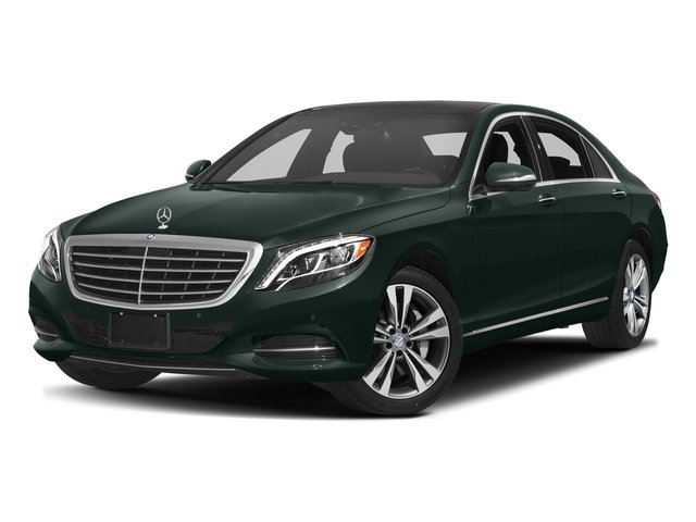 Emerald Green Metallic 2017 Mercedes-Benz S-Class Pictures S-Class Sedan 4D S550e V6 Turbo photos front view