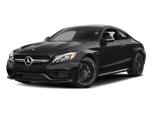 Obsidian Black Metallic 2017 Mercedes-Benz C-Class Pictures C-Class AMG C 63 Coupe photos front view