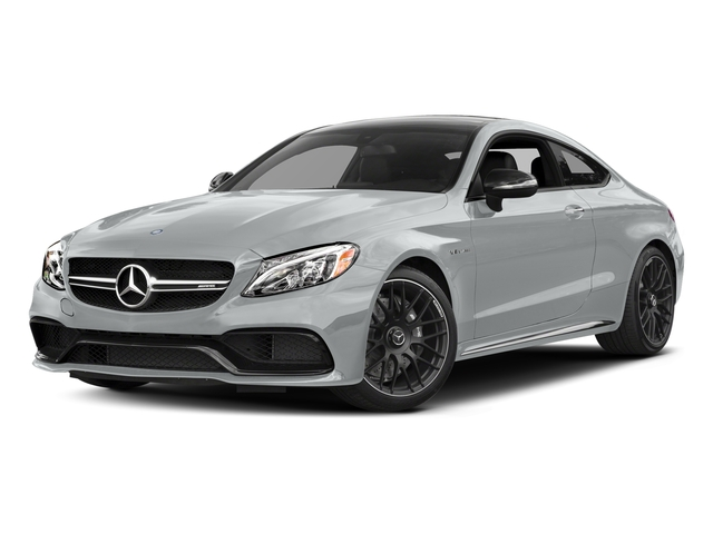 Iridium Silver Metallic 2017 Mercedes-Benz C-Class Pictures C-Class AMG C 63 Coupe photos front view