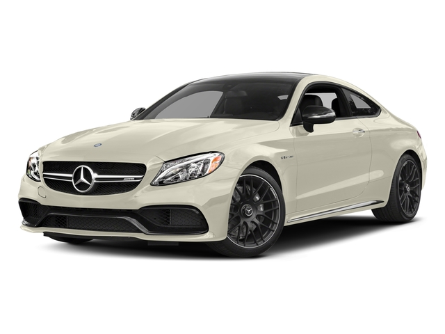 designo Diamond White Metallic 2017 Mercedes-Benz C-Class Pictures C-Class AMG C 63 Coupe photos front view