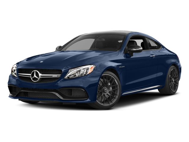 Brilliant Blue Metallic 2017 Mercedes-Benz C-Class Pictures C-Class AMG C 63 Coupe photos front view