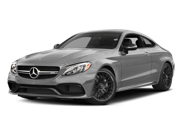 designo Iridium Silver Mango (Matte Finish) 2017 Mercedes-Benz C-Class Pictures C-Class AMG C 63 Coupe photos front view