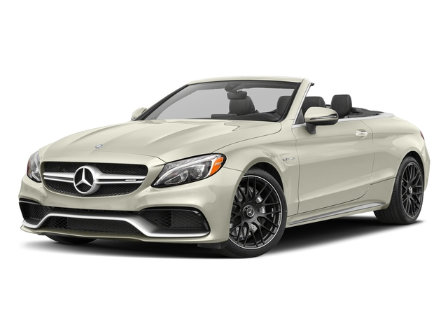 Polar White 2017 Mercedes-Benz C-Class Pictures C-Class Convertible 2D C63 AMG V6 Turbo photos front view