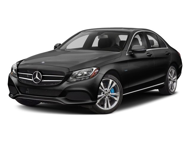 Obsidian Black Metallic 2017 Mercedes-Benz C-Class Pictures C-Class C 350e Sedan photos front view