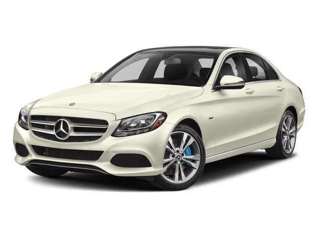 designo Diamond White Metallic 2017 Mercedes-Benz C-Class Pictures C-Class C 350e Sedan photos front view