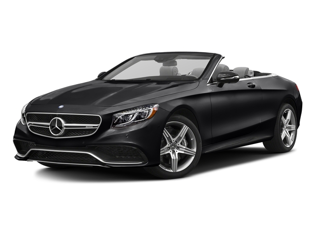 Black 2017 Mercedes-Benz S-Class Pictures S-Class Convertible 2D S63 AMG AWD V8 Turbo photos front view