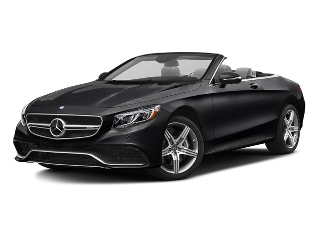 Black 2017 Mercedes-Benz S-Class Pictures S-Class AMG S 63 4MATIC Cabriolet photos front view
