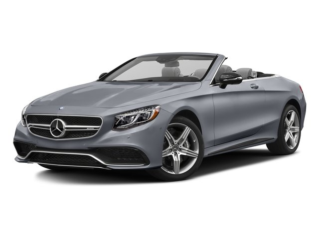 AMG Alubeam Silver 2017 Mercedes-Benz S-Class Pictures S-Class AMG S 63 4MATIC Cabriolet photos front view