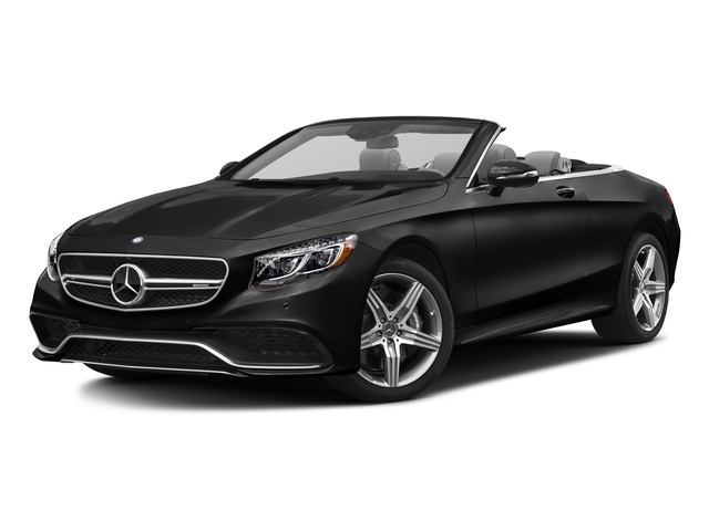Obsidian Black Metallic 2017 Mercedes-Benz S-Class Pictures S-Class AMG S 63 4MATIC Cabriolet photos front view