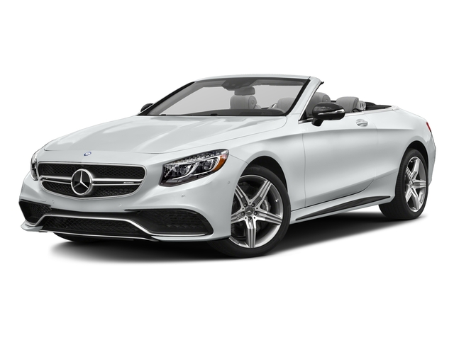 Iridium Silver Metallic 2017 Mercedes-Benz S-Class Pictures S-Class Convertible 2D S63 AMG AWD V8 Turbo photos front view
