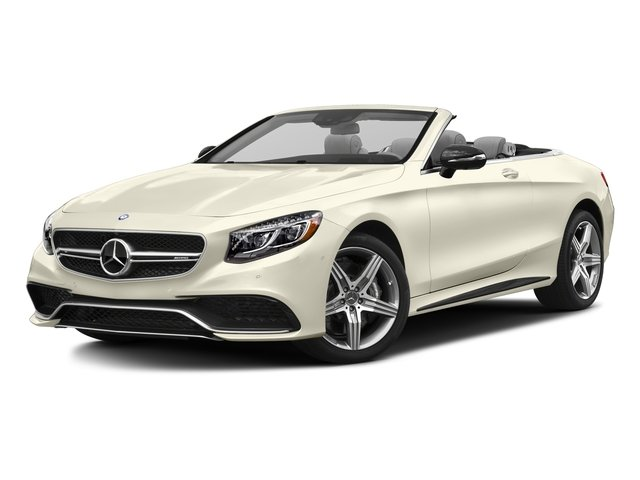 designo Diamond White Metallic 2017 Mercedes-Benz S-Class Pictures S-Class AMG S 63 4MATIC Cabriolet photos front view
