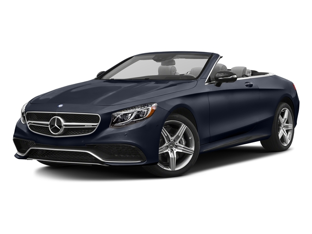 Lunar Blue Metallic 2017 Mercedes-Benz S-Class Pictures S-Class Convertible 2D S63 AMG AWD V8 Turbo photos front view