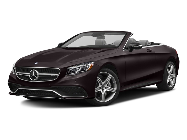 Ruby Black Metallic 2017 Mercedes-Benz S-Class Pictures S-Class AMG S 63 4MATIC Cabriolet photos front view