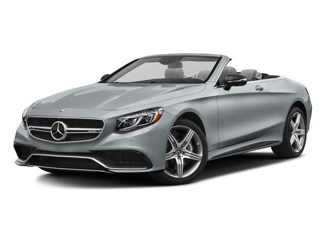 Diamond Silver Metallic 2017 Mercedes-Benz S-Class Pictures S-Class AMG S 63 4MATIC Cabriolet photos front view