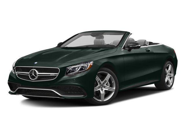 Emerald Green Metallic 2017 Mercedes-Benz S-Class Pictures S-Class AMG S 63 4MATIC Cabriolet photos front view