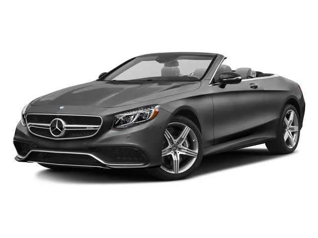Selenite Grey Metallic 2017 Mercedes-Benz S-Class Pictures S-Class Convertible 2D S63 AMG AWD V8 Turbo photos front view