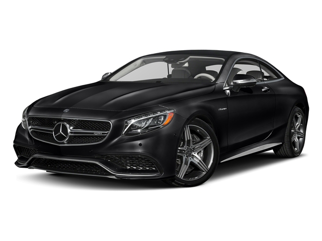 Black 2017 Mercedes-Benz S-Class Pictures S-Class AMG S 63 4MATIC Coupe photos front view