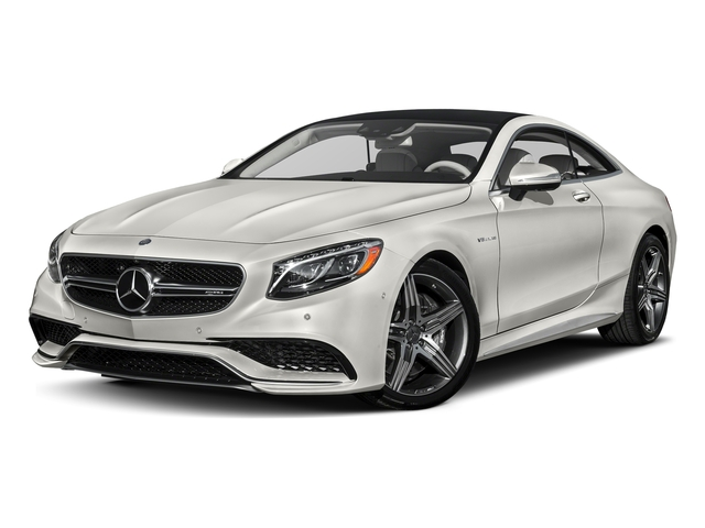 designo Magno Cashmere White (Matte Finish) 2017 Mercedes-Benz S-Class Pictures S-Class Coupe 2D S63 AMG AWD V8 Turbo photos front view