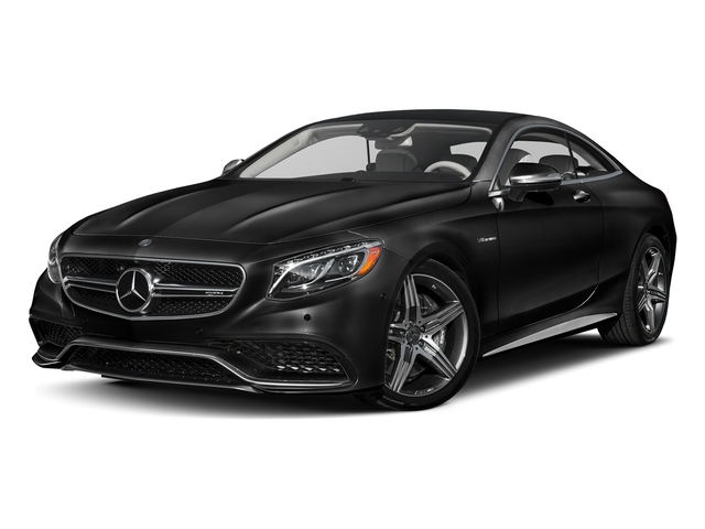 Magnetite Black Metallic 2017 Mercedes-Benz S-Class Pictures S-Class Coupe 2D S63 AMG AWD V8 Turbo photos front view