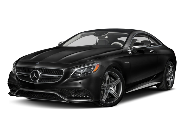 Obsidian Black Metallic 2017 Mercedes-Benz S-Class Pictures S-Class Coupe 2D S63 AMG AWD V8 Turbo photos front view