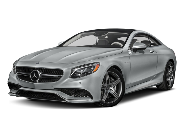 Iridium Silver Metallic 2017 Mercedes-Benz S-Class Pictures S-Class Coupe 2D S63 AMG AWD V8 Turbo photos front view