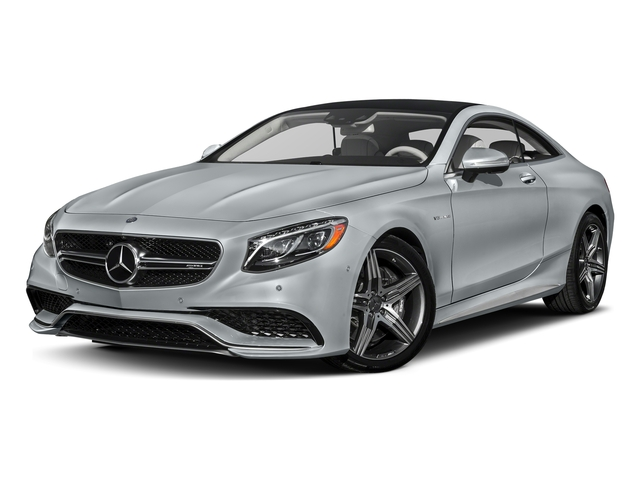 Diamond Silver Metallic 2017 Mercedes-Benz S-Class Pictures S-Class Coupe 2D S63 AMG AWD V8 Turbo photos front view