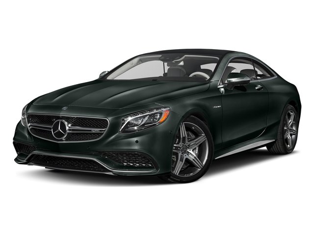 Emerald Green Metallic 2017 Mercedes-Benz S-Class Pictures S-Class Coupe 2D S63 AMG AWD V8 Turbo photos front view