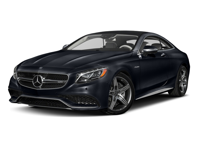 Anthracite Blue Metallic 2017 Mercedes-Benz S-Class Pictures S-Class AMG S 63 4MATIC Coupe photos front view