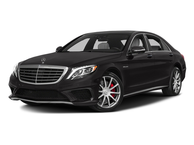 designo Mocha Black 2017 Mercedes-Benz S-Class Pictures S-Class Sedan 4D S63 AMG AWD V8 Turbo photos front view