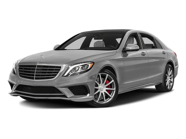 designo Magno Alanite Grey (Matte Finish) 2017 Mercedes-Benz S-Class Pictures S-Class Sedan 4D S63 AMG AWD V8 Turbo photos front view
